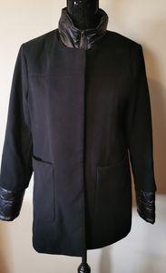French Connection Black Coat Size Medium
